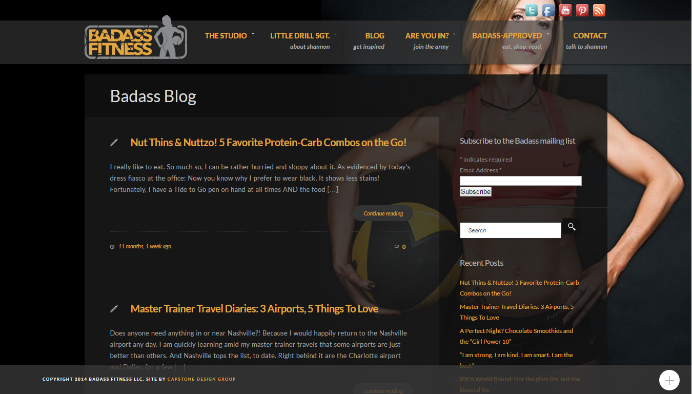 top 50 strength training blogs